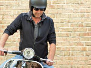aller au travail a moto