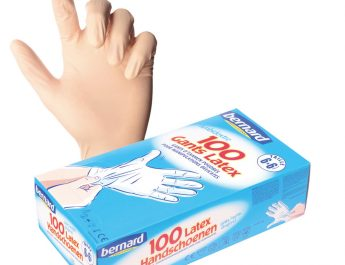 Professionnel de la santé privilégier des gants jetables