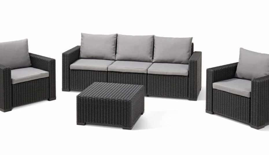 fauteuils et meubles en résine tressée